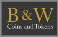B & W Coins and Tokens