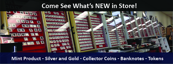 B & W Coins and Tokens Store