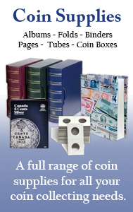 B & W Coin Supplies  - We carry a full range of supplies